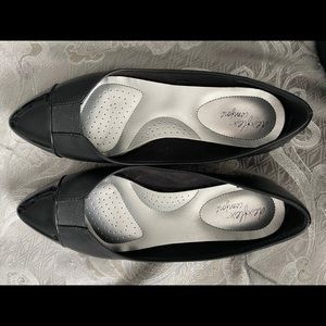 Dex flex comfort 10W BLACK FLATS